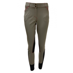 Ladies Contrast Piping Knee Patch Breech