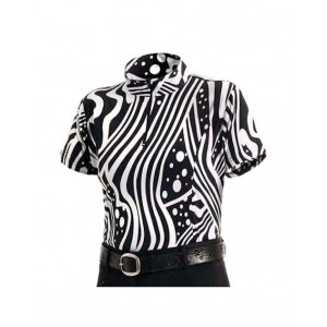 Performance Shirt Zebra Print