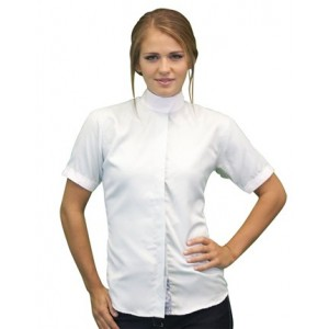 Rattan Dressage Wrap Collar Shirt