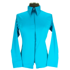 Youth Zip Up Fitted Show Shirt