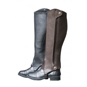 Genuine Leather Half Chaps