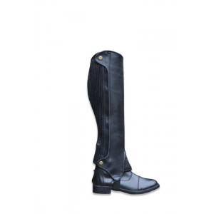 Child Deluxe Leather Half Chaps