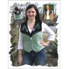 Vest with Feathers
