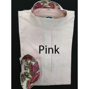Wrap Collar shirt