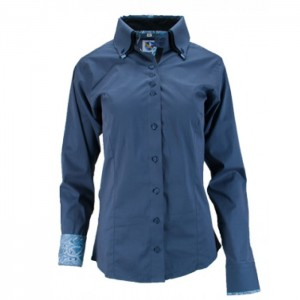 Double Collar Button Down Shirt