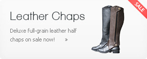 Leather Half-Chaps On Sale!