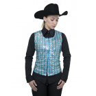 Ladies Sheer Show Vest