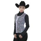Ladies Sheer Lace Vest